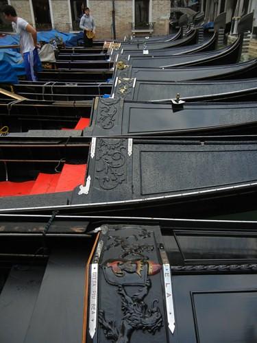 DSCN1315 _ Gondolas, Agenzia Gondolieri Travel Bacino Orseolo, 13 October
