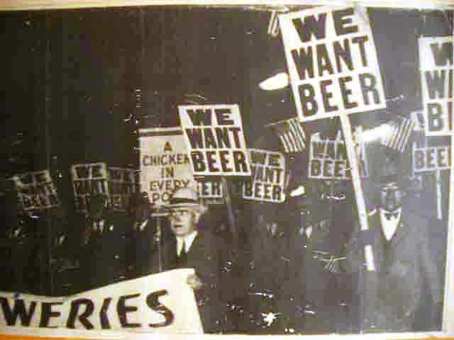 1932 NYC We Want Beer Parade