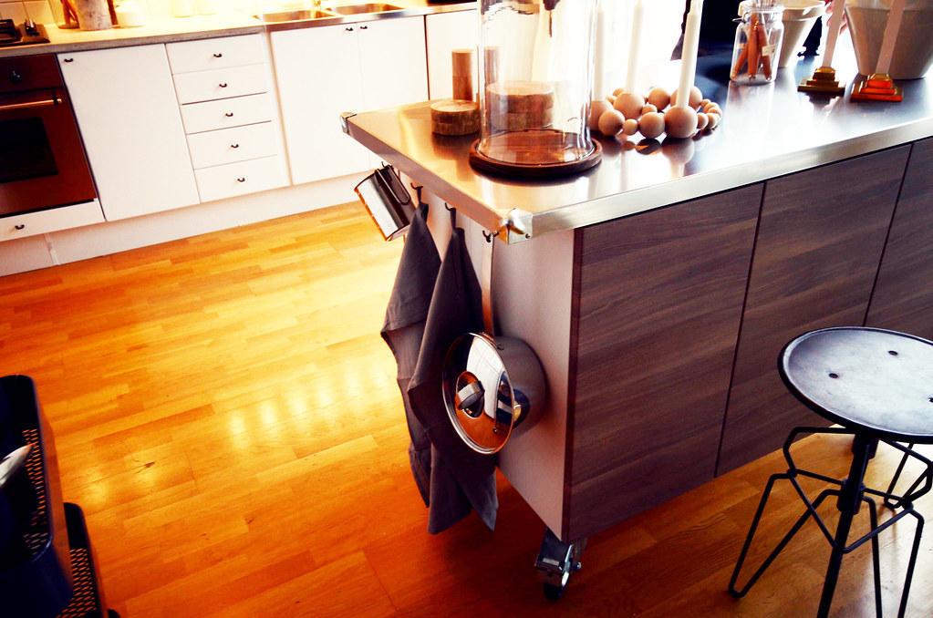 A kitchen I decorated for Äntligen Hemma.
