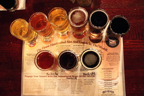 Big River Brewery Tasting Platter