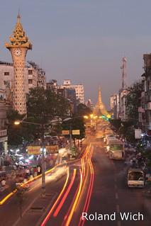 Yangon - Evening Traffic
