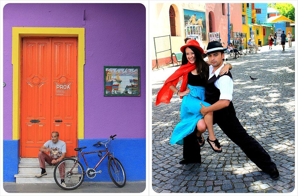 Buenos Aires El Caminito Colors