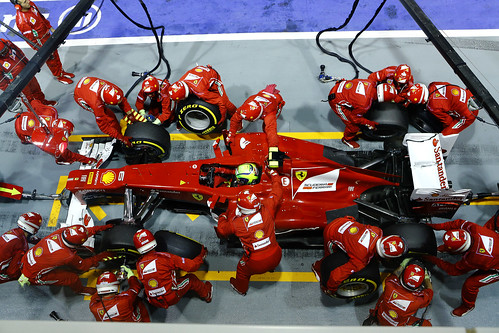 2012 Singapore Grand Prix - Sunday
