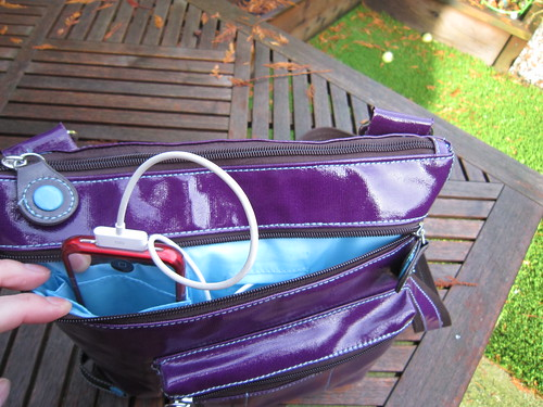 Urban Junket's Jen Powered Crossbody iPad Bag