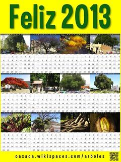 Yellow Feliz 2013: Arboles de Oaxaca (Oaxaca Trees) @OaxacaFertil
