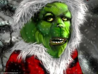 Mr Grinch - holidays Dr Seus_challenge