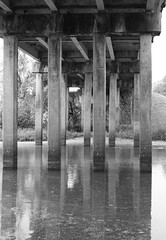 Hady Creek Bridge, US90 (I-10 Frontage Rd), Brookshire, Texas 1212051034BW