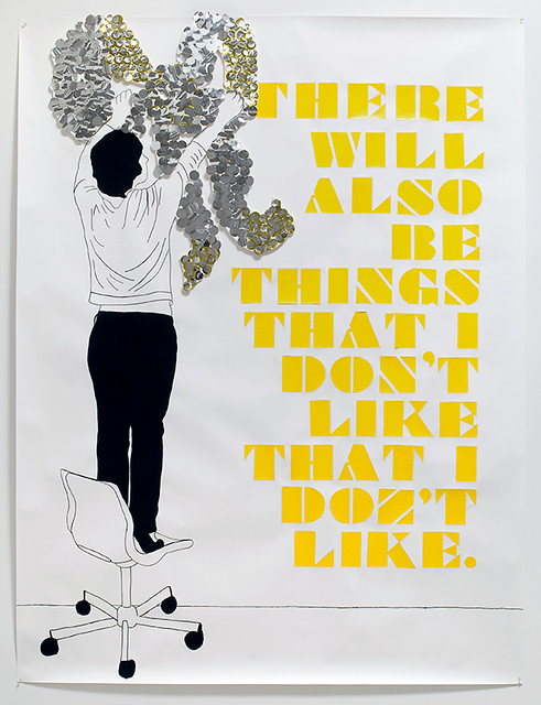 Frances Stark, There will also be things that I don't like, 2007