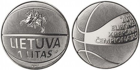 basketball coin