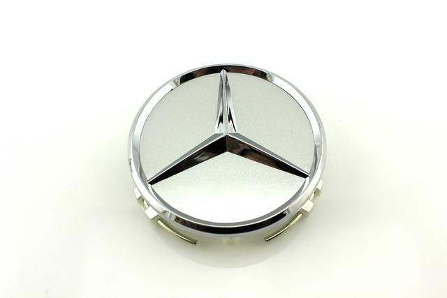4pcs 75mm Alloy Wheel Center Caps Hub for Mercedes Benz C E s ml CLK SLK Class