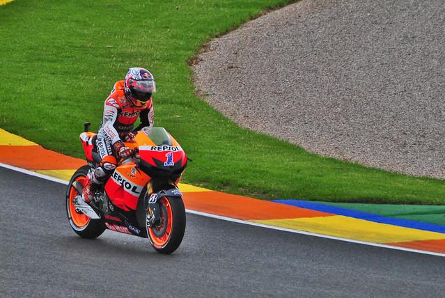 (Very!) Last lap for Casey @ Valencia MotoGP 2012 | Flickr - Photo Sharing!