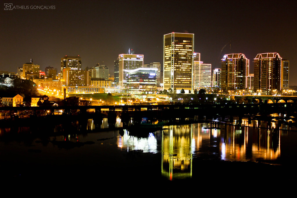 City Of Richmond Va >> All Sizes Richmond Va City Lights Flickr Photo Sharing
