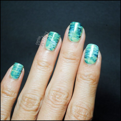 Fan brush nail art nail it to yourself prinsesfo Image collections