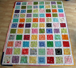 Caleigh's Paintbox quilt