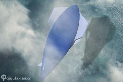 漂浮在空中 未来的太阳能客机-玩意儿