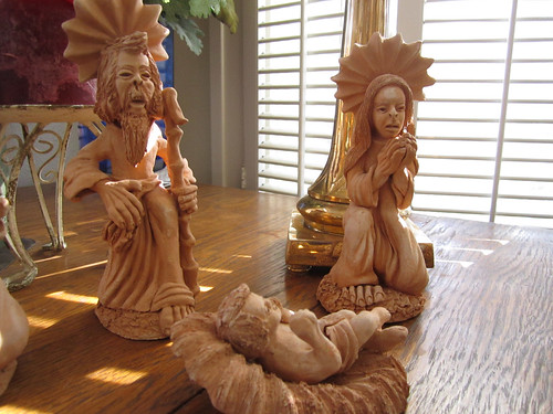Clay Nativity