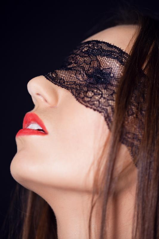 Фотосессия девушки beauty в студии