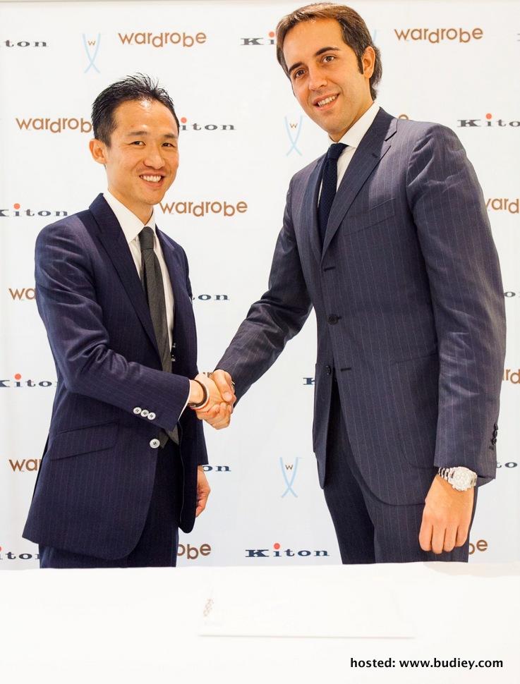 L-R - Mr. Lim Fang Heng, Dr. Raffaele Nigro