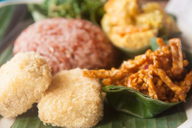 Nasi Campur from Warung Sopa, Ubud, Bali