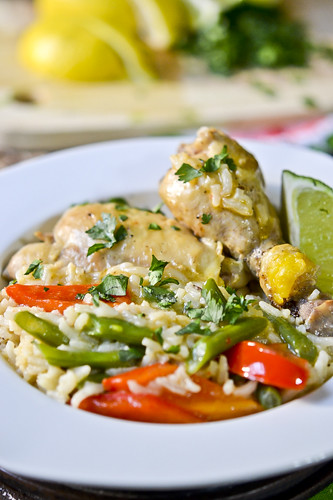Spicy Coconut Chicken Casserole Recipe — Dishmaps