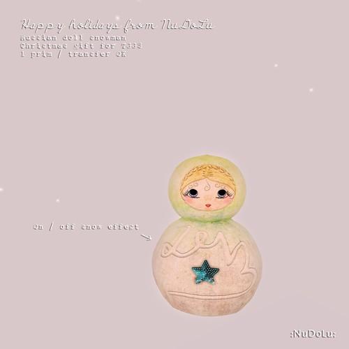 TGGS snowman gift AD
