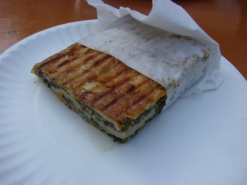Spinach Bourek from Mmm...Enfes