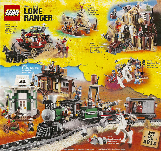LEGO Disney - The Lone Ranger 2013
