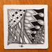 Square One: Purely Zentangle FB Page - Echoism by ZChrissie