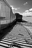 Barge Fence at Paull by Miles From Nowhere Photography
