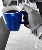 Coffee & Owl (Loving blue)