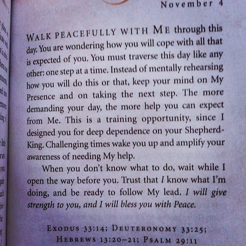 Just what I needed to hear.