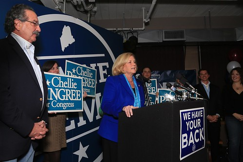 Chellie Pingree Declares Victory
