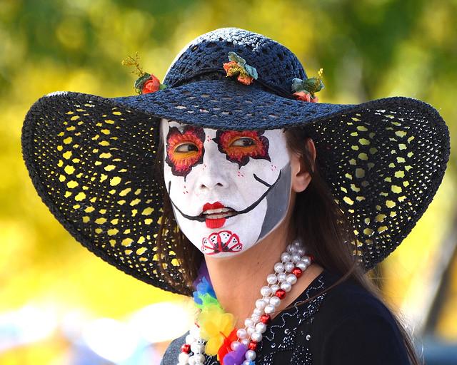 Facepaint Dia De Los Muertos