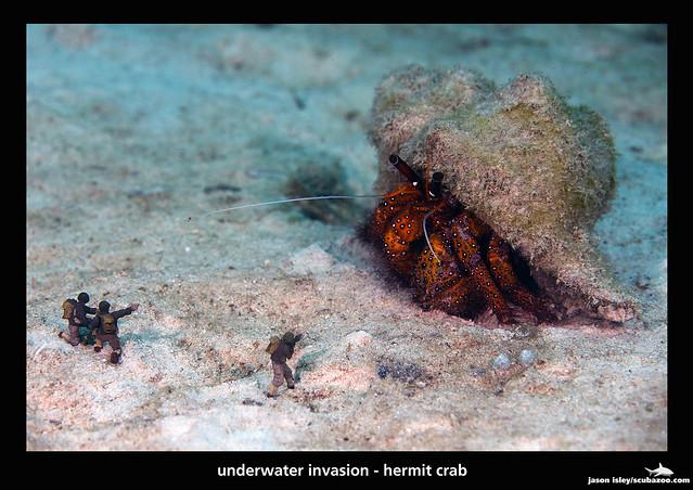 UW invasion - hermit attack