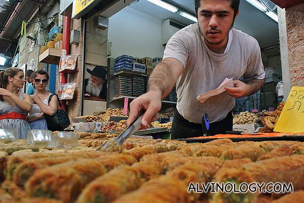 Israeli snacks