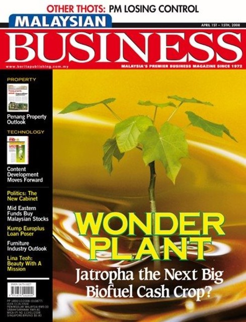 Malaysian Business - April 2008