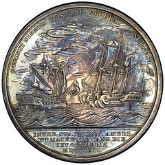 Decatur medal reverse