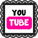 Pink youtube doily