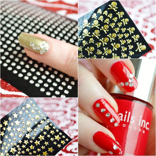 Elegant touch Nail art stickers