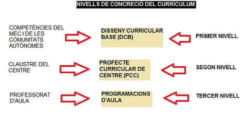 NIVELLS DE CONCRECIÓ ENTRADA 5