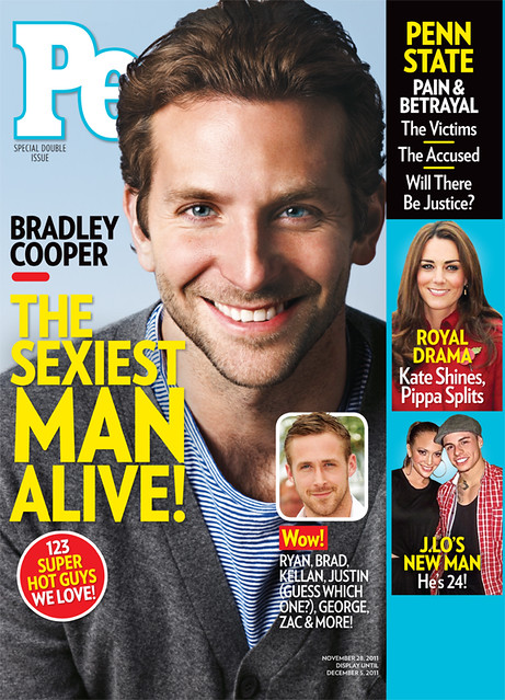 PEOPLE Magazine's Sexiest Man Alive cover 1