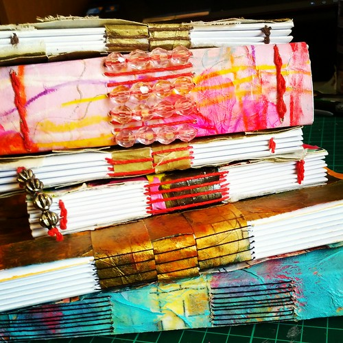 Longstitch Journal stack