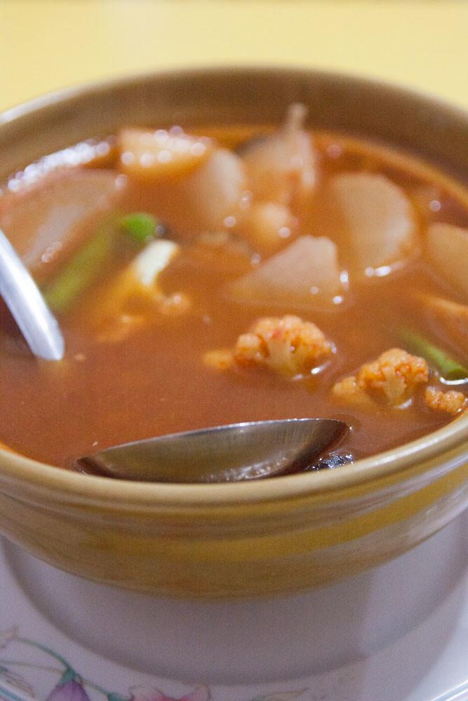 Vegan Assam Laksa from Kwan Imm Jae