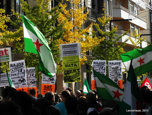 Andalusian General Strike November 2012