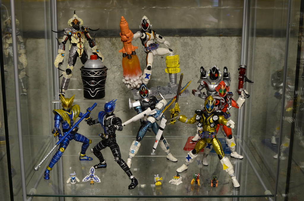 Kamen Rider Fourze Display