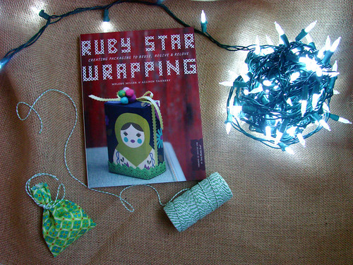 Ruby Star Wrapping advent tree