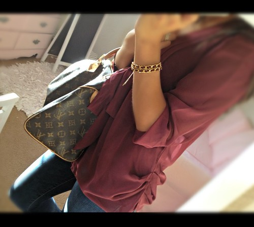 Fall Mikaylove Louis Vuitton Burgundy