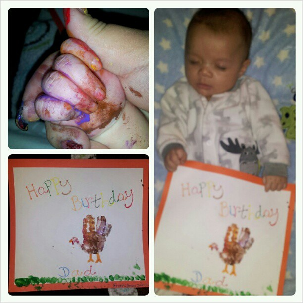 My Baby Made His Daddy A Birthday Card D HappyBirthd