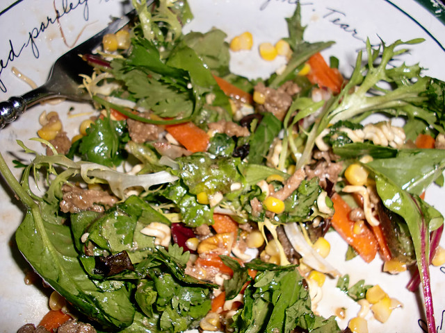 Asian Turkey Salad