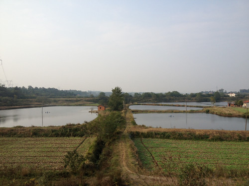 Countryside between Wushan and Yicheng